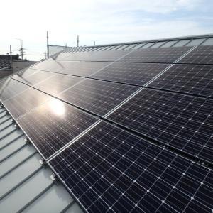太陽光発電取り付け