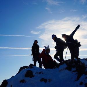初の雪山企画☃️北横岳・縞枯山・茶臼山 2017.12.30