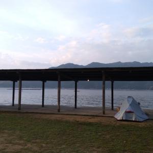 初の自力泊まりキャンプ①