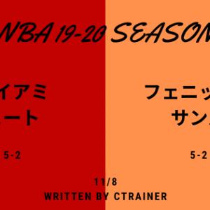 NBA観戦レポートその67:2019-2020シーズン マイアミ・ヒート×フェニックス・サンズ
