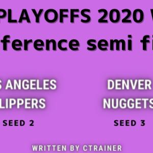 NBA観戦レポートその88:NBA playoffs2020 WEST conference semi final ロサンゼルス・クリッパーズ×デンバー・ナゲッツ(シリーズレビュー)