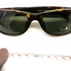 レイバンニューウェイファーラーサングラスのサイズは?【サイズ表・比較】