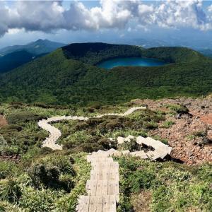 秋晴れの霧島を往く えびの高原→韓国岳→大浪池