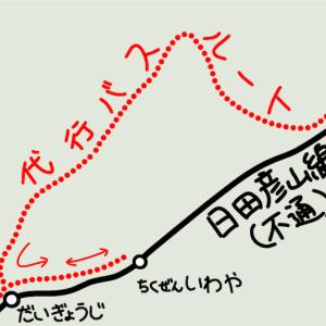 日田彦山線 災害運休区間(添田~夜明)の現状 Part2 筑前岩屋・彦山