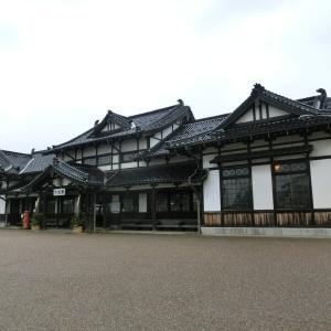大社駅(島根県・JR大社線) 使命を終えた荘厳な木造建築の終着駅