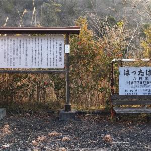 JR福塩線旧線 八田原駅跡