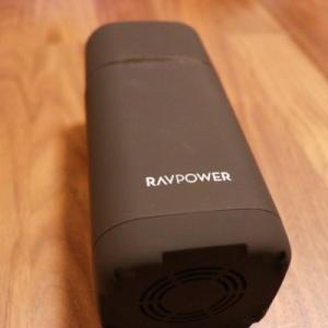 【RAVPower RP-PB054proレビュー】コンパクトでも大容量な20000mAhのモバイルバッテリー