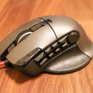【14ボタン搭載】エレコム M-DUX50BKレビュー|MMO向け低価格有線ゲーミングマウス