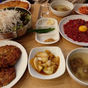 【韓国料理】広蔵市場の昌信ユッケ(창신육회)〜ビンデトックも食べたい場合はおすすめ〜
