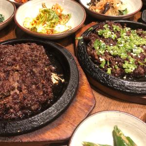 【韓国料理】トッカルビ定食(떡갈비정식)〜スビン(수빈)というお店〜