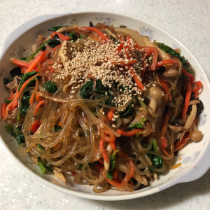 【韓国料理レシピ】チャプチェ(잡채)〜できる限り簡単に〜