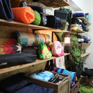 【DIY】賃貸の家に大量のキャンプ収納!ラブリコとOSB合板でキャンプ収納棚をつくりました。
