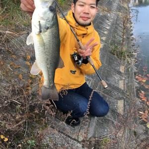 弟と釣りに行ってきたお話12月編
