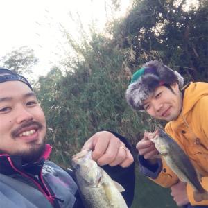 弟と釣りに行ってきたお話〜新年初バスを追い求めて編〜