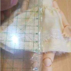 プリンセスラインのワンピを作る