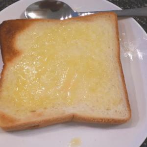 至福のガーリックトースト