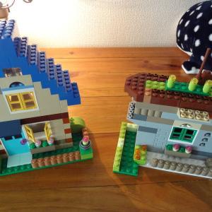 LEGOに手を出してしまった~おやつは焼きりんごね