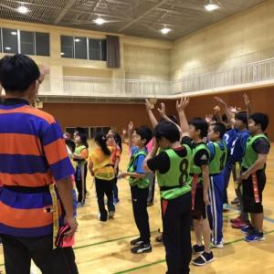 タグラグビー教室in積丹町チャレンジクラブ
