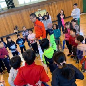 タグラグビー教室in潮見台小学校