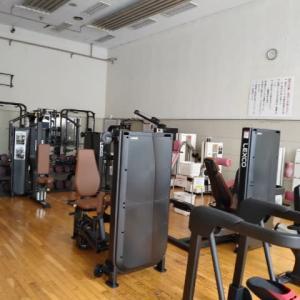 小樽市総合体育館のトレーニング室