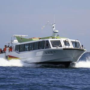海上観光船「あおばと」