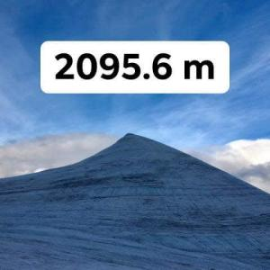 スウェーデン ケブネカイセ山 最高峰陥落