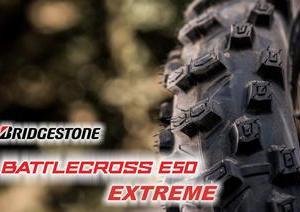 新作ガミ―タイヤ BRIDGESTONE BATTLECROSS E50 EXTREME