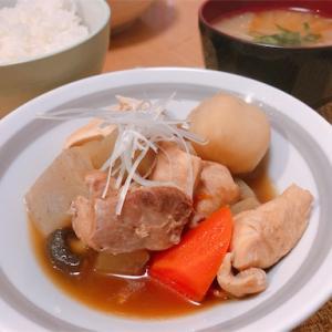 シンプルな味付け「筑前煮」
