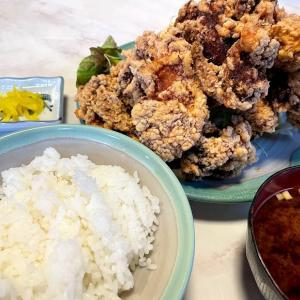 デカ盛り三昧な一日@「大湫神明神社の大杉」&「加登屋食堂の『唐揚げ定食』」