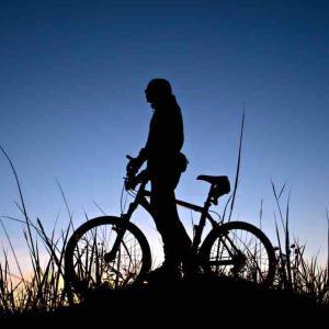 ロードバイク 夜練 堺浜