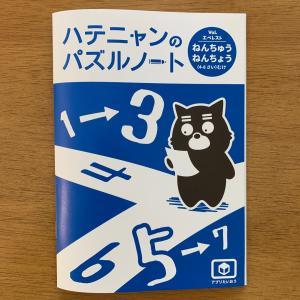 ワンダーボックスのハテニャンバズるノート【幼児教材】