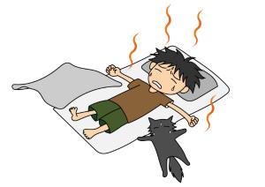 暑い夜を快適に寝る方法教えて!熱帯夜でもぐっすり眠れる快眠のコツとは