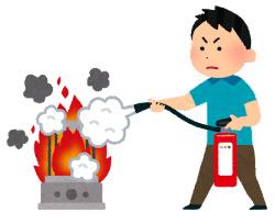 家庭用消火器の使用期限|古くなると腐食が進んで破裂の恐れがありますよ!