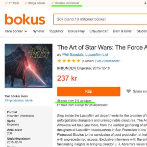 スウェーデンのネット本屋って。。。Bokusも駄目だった件