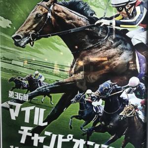 2019マイルチャンピオンシップポスターサイン読み!