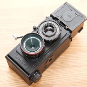 【そのほか・カメラ】本屋で買える!35mm二眼レフカメラ「学研フレックス」を作ってみよう!
