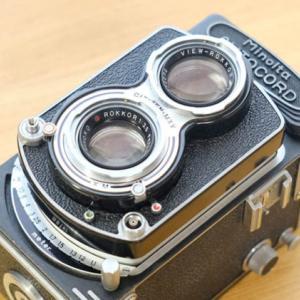 【カメラの話】 国産二眼レフカメラ最高峰「ミノルタオートコード」を使ってみよう♪