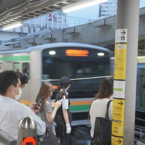 【東京・渋谷&原宿】  久々に埼京線へ乗ったら渋谷駅のホームが近くなっていて驚きましたっ!!!