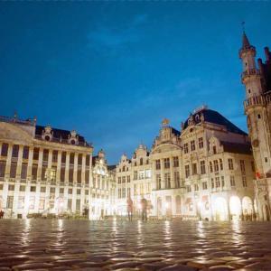 【ベルギー・ブリュッセル】 世界遺産&チョコレート&ワッフルを一挙に楽しもう♪