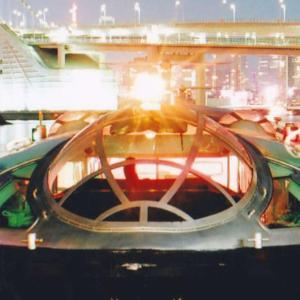 【東京・浅草~お台場】 まるで宇宙船?! 松本零士先生がデザインした観光船「ヒミコ」に乗って東京湾を楽しもう♪