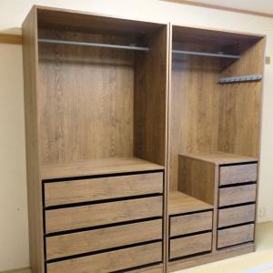 【インテリアの話】 慣れるまでは結構大変です。。。IKEAのオシャレな収納家具「PAX」を組み立ててみました♪