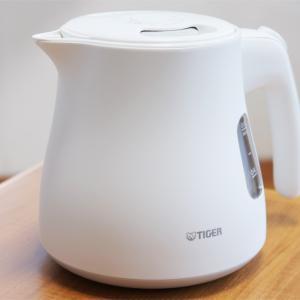 【オススメの逸品】 ミルク作りやコーヒードリップにも最適! 電気ケトル「PCM-A080」をレビューします♪