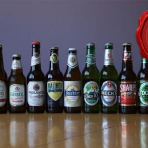 断酒182日目 アメリカのノンアルコールビール14種飲み比べ