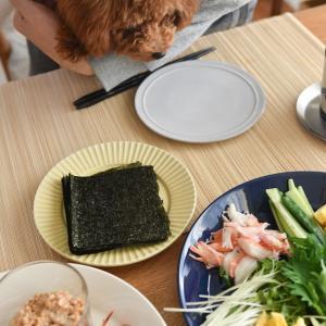 週末は手巻き寿司パーティー、準備は簡単で美味しいよそいき気分とポチレポ