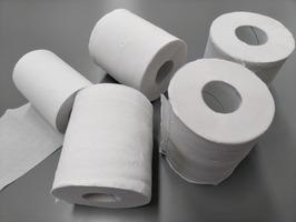 """なるべく少量の""""トイレットペーパー""""で拭く方法、コツは折り方"""