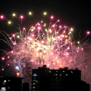 北九州10分間の花火大会