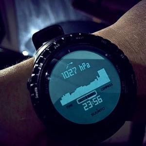 気圧計がついてる時計