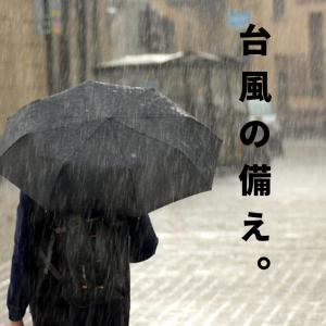 3連休に日本列島直撃の台風19号に向けて備える【今日急遽購入したもの】