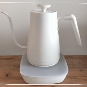 YAMAZEN 電気ケトル シンプルデザインが素敵 お茶やコーヒーを淹れるのに最適!