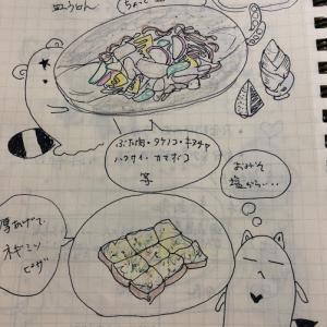 9月19日(木曜日)長崎皿うどんと厚揚げネギ味噌ピザ(時には失敗もあるさ♪)